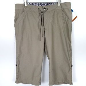 COLUMBIA Arch Cape Knee Pants NWT Size 16